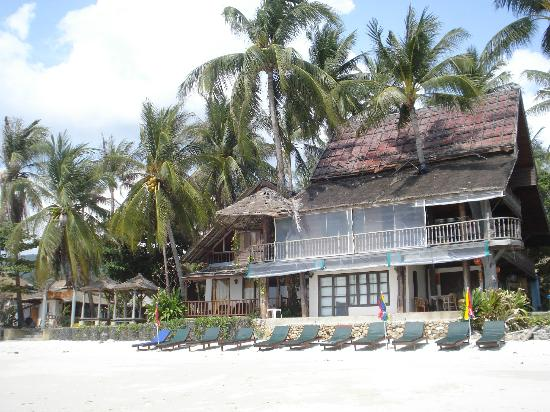 Chaweng Cabana Resort: View from the beach