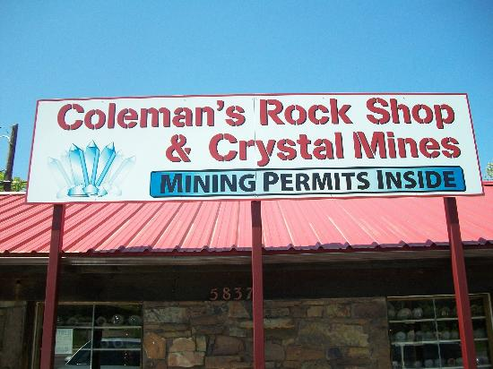 ‪Coleman Crystal Mines and Rock Shop-Jim‬