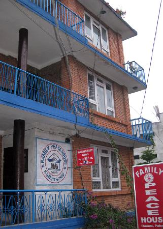 Family Peace House: building