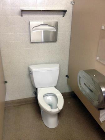 Salt Lake City KOA: The toilet