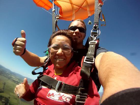Skydive Yarra Valley: Wohoo!