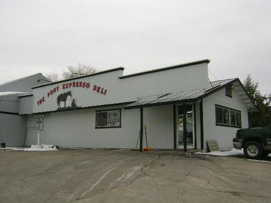 Pony Express Meats & Deli: Front of Deli