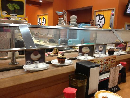 Genki Sushi Hawaii Incorporated: Conveyor belt sushi
