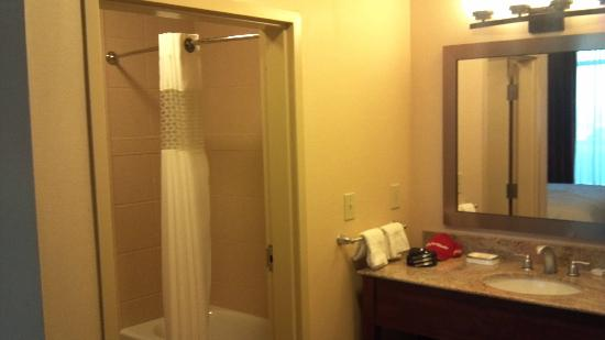 Hampton Inn & Suites Scottsdale/Riverwalk: Sink/Bathroom