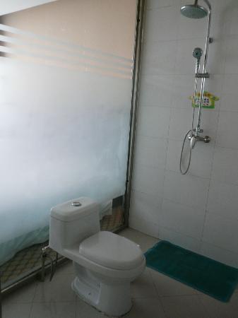Zhongwei Xilaideng Hotel : shower area