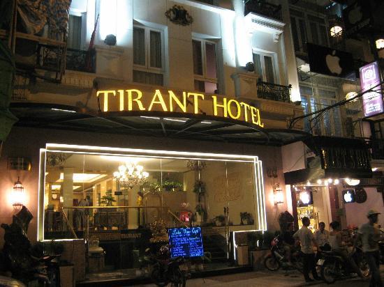 Hanoi Tirant Hotel: Hotel front.