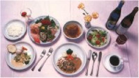 Pension Villa Commons : 夕食