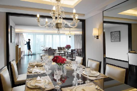 Fraser Suites Top Glory Shanghai: Dinning Room
