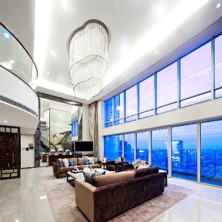 Fraser Suites Top Glory Shanghai: Penthouse Loft