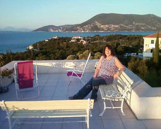 Janet Art Pension: Stunning view from the roof