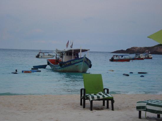 Sari Pacifica Hotel, Resort & Spa - Redang Island: scarico barili di carburante