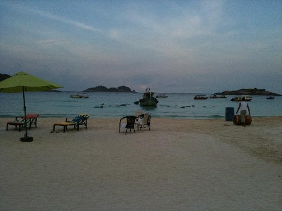 Sari Pacifica Hotel, Resort & Spa - Redang Island: scarico barili di carburante 2