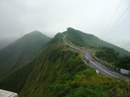 Road to Kelud Volcano
