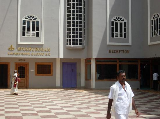 Tiruchendur, الهند: Hotel Frontage