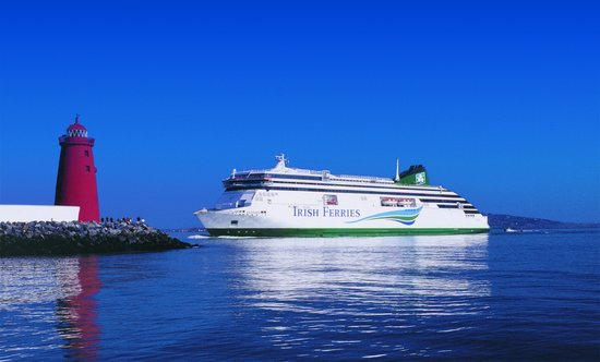 Ulysses - Most reliable cruise ferry on the Irish Sea