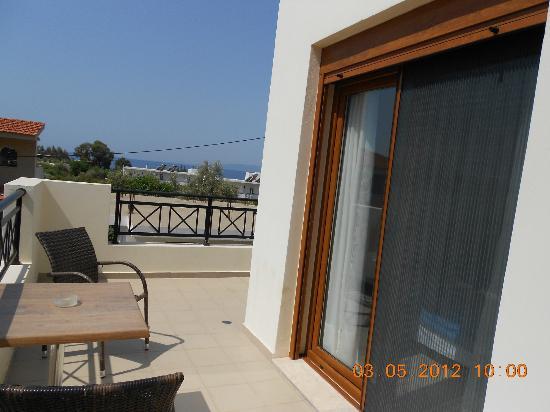 Blue Dream Luxury Villas: Balcone camera superiore, appartamento GARDEN