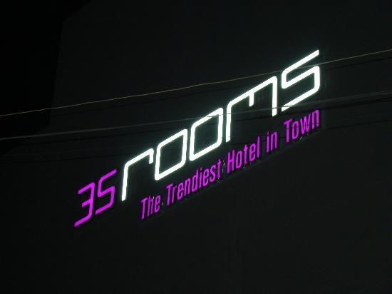 35 Rooms: logo