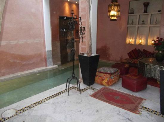 Riad Moullaoud: pool