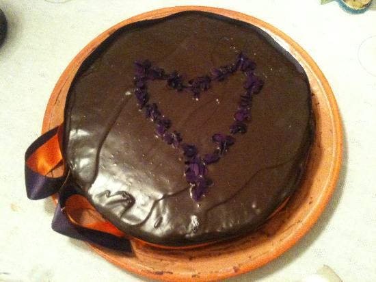 La Chiusa Organic Farm: cioccolata e violette...indimenticabile