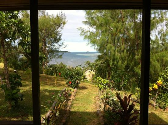 Bay of Plenty Lodge: from my bure
