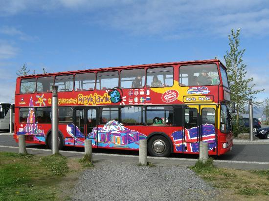 City Sightseeing Reykjavik: Der Hop On - Hop Off-Bus in seiner vollen Pracht