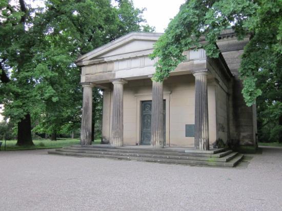 Berggarten: Mausoleum