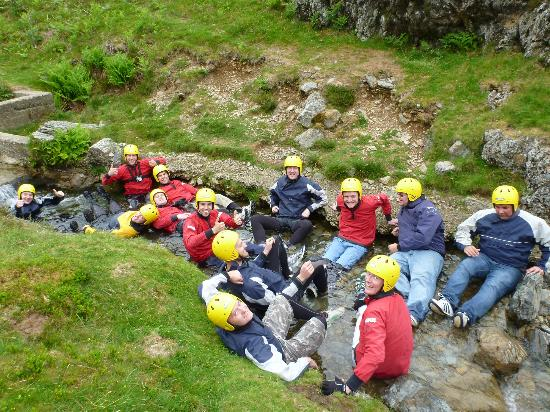 Keswick Adventure Centre: Getting Ready for the Ghyll Scrambling