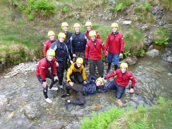 Keswick Adventure Centre: More smiling faces after completing the Ghyll Scrambling!