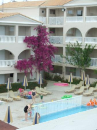 Planos Bay Apartments Hotel: view from balcony