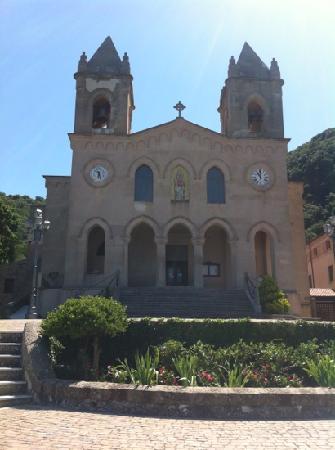 Cefalu, Italie : santuario gibilmanna