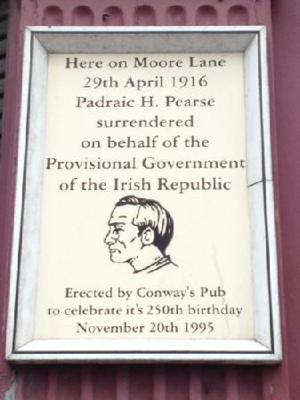 Rebel Tour of Dublin: The City That Fought an Empire: Moore Lane surrender
