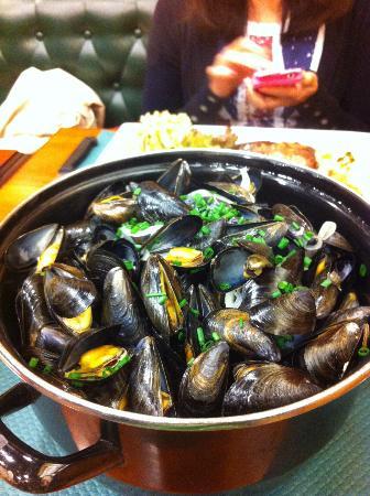 Le Cancaven : mussels
