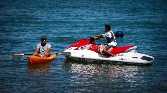 TX Hotel: Kayaks y Moto Acuática