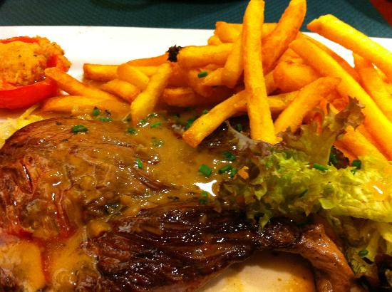Le Cancaven : steak & chips