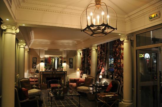 Hotel Sainte Beuve: Le lobby
