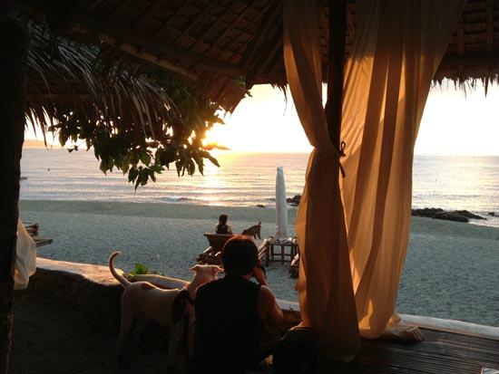 La Luz Beach Resort : The sunset
