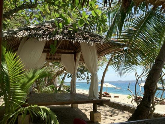 La Luz Beach Resort: One of the cabanas
