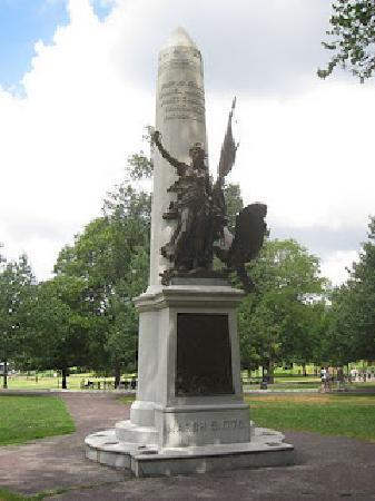 Irish Heritage Trail: Boston Massacre Monument, Boston Common