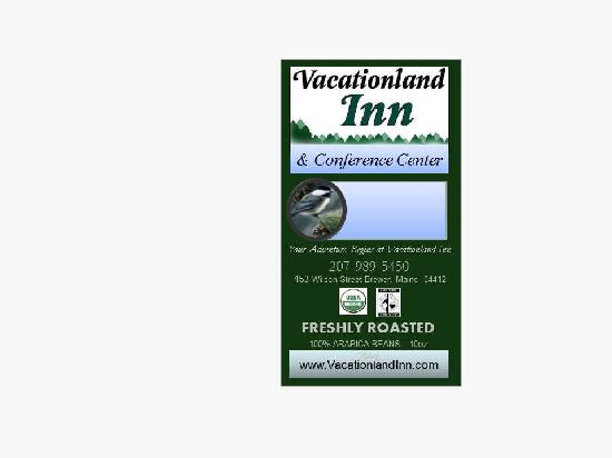 Vacationland Inn: Coffees