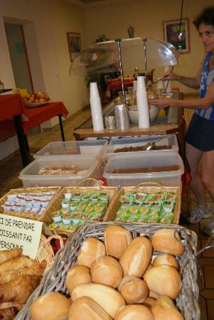Ma Normandie : Buffet petit déjeuner