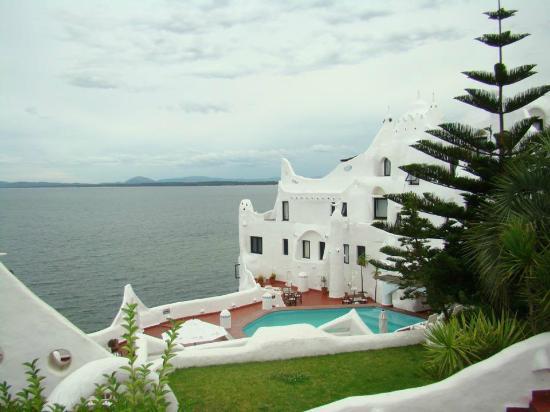 Punta Ballena, Uruguay: Vista desde una de las terrazas