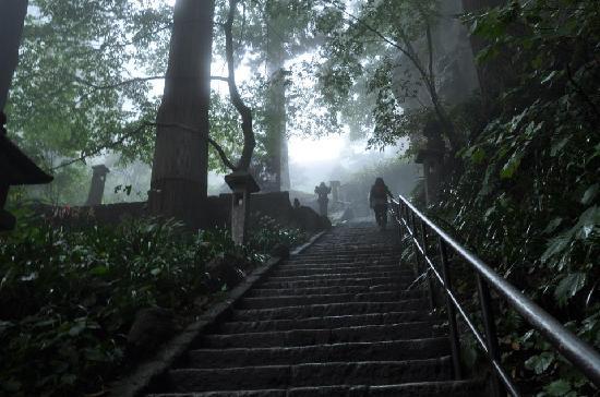 Risshaku-ji Temple: stairway to heaven