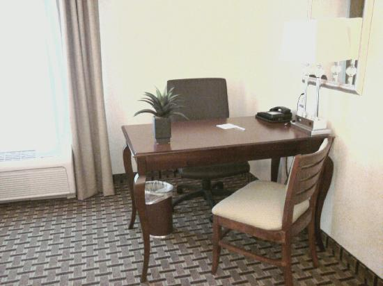 Hampton Inn & Suites Cleveland-Mentor: Desk Area