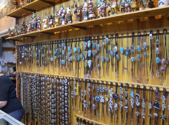 Richardsons Trading Company: bolo ties , conchas belts , and Kachinas