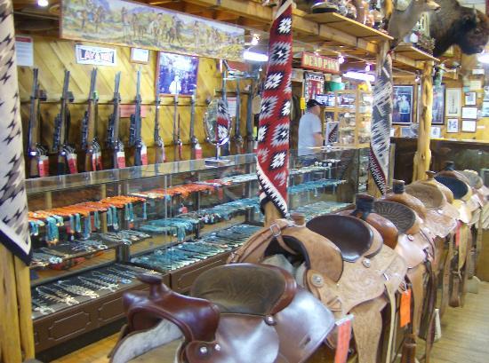 Richardsons Trading Company: guns and saddles