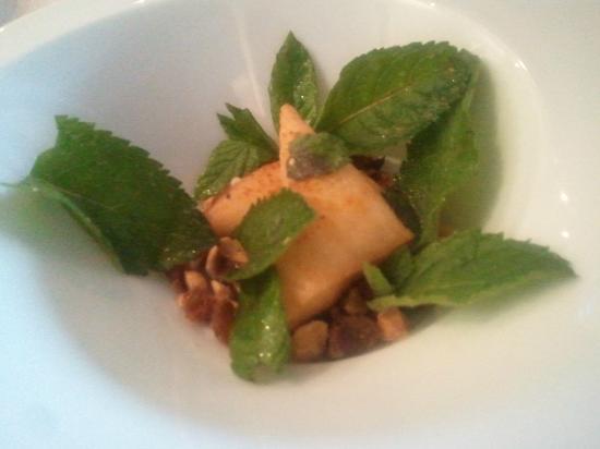 Hotel La Guérinière : les samoussas bleu et jambon blanc