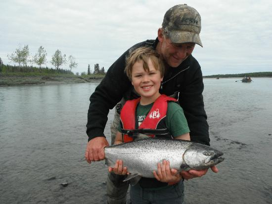 Crooked Creek Retreat: fun for all ages, 2 generations of fisherman