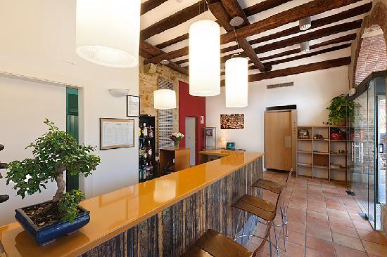 Hospederia de Alesves: bar