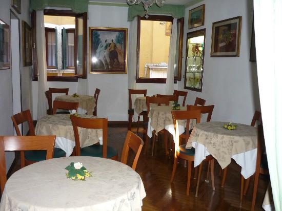 Hotel Serenissima: Salle du petit déjeuné