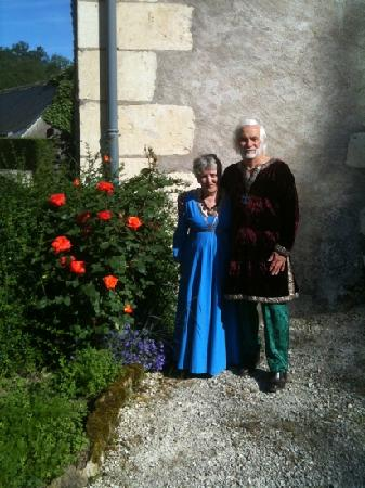 Domaine de la Juranvillerie: our hosts at this wonderful b&b